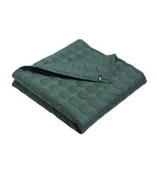 HAY - Mega Dot sengetæppe 235 x 245 cm - Mørk grønn