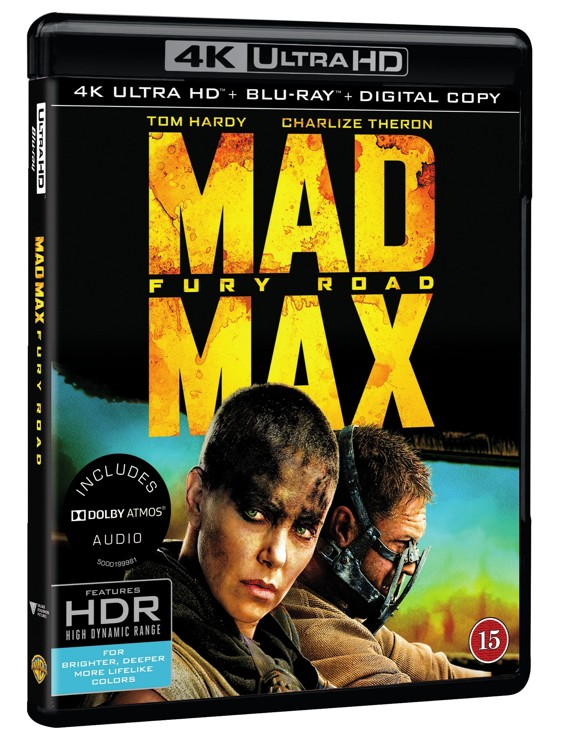 Mad Max: Fury Road (4K Blu-Ray)