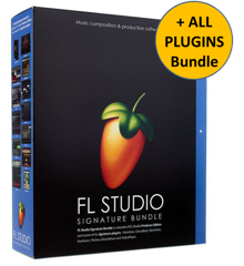 Image-Line - FL Studio V20+ Signature + All Plugins Bundle - Music Production Software (Download)