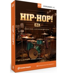 Toontrack - EZX HIP-HOP - Expansion Pack For EZdrummer (DOWNLOAD)