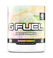 G Fuel - Rainbow Sherbet Tub - 40 Servings