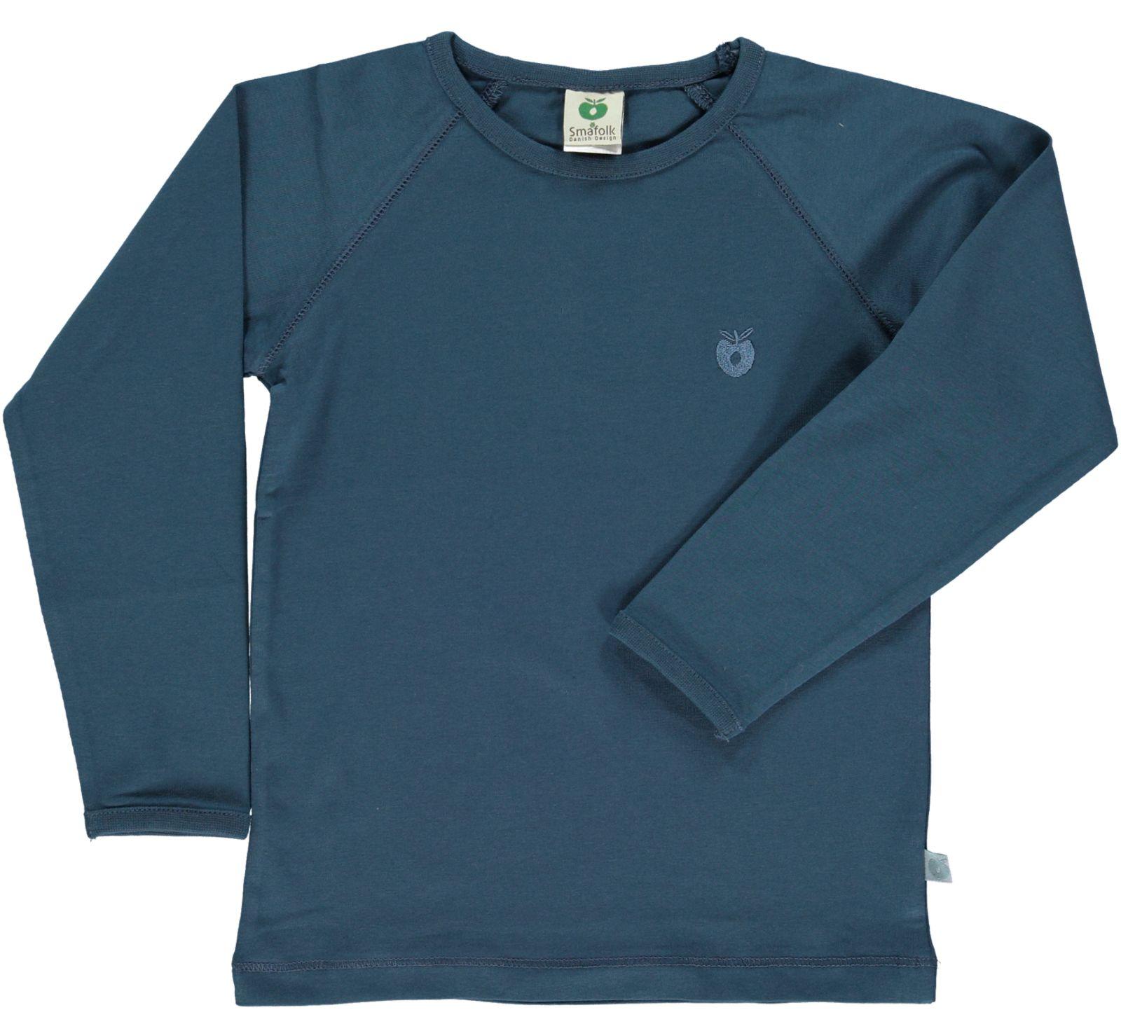 Småfolk - Organic Basic Longsleved T-Shirt - Majolica