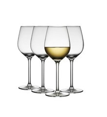 Lyngby Glas - Jewel White Wine Glass 38 cl - Set of 4 (916256)