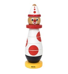 BRIO - Stacking Clown, 60 Anniversary (30230)