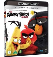 Angry Birds The Movie (4K Blu-Ray)