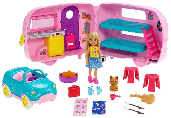 Barbie - Chelsea Campingvogn (FXG90)