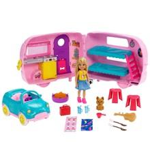 Barbie - Chelsea Transforming Camper (FXG90)