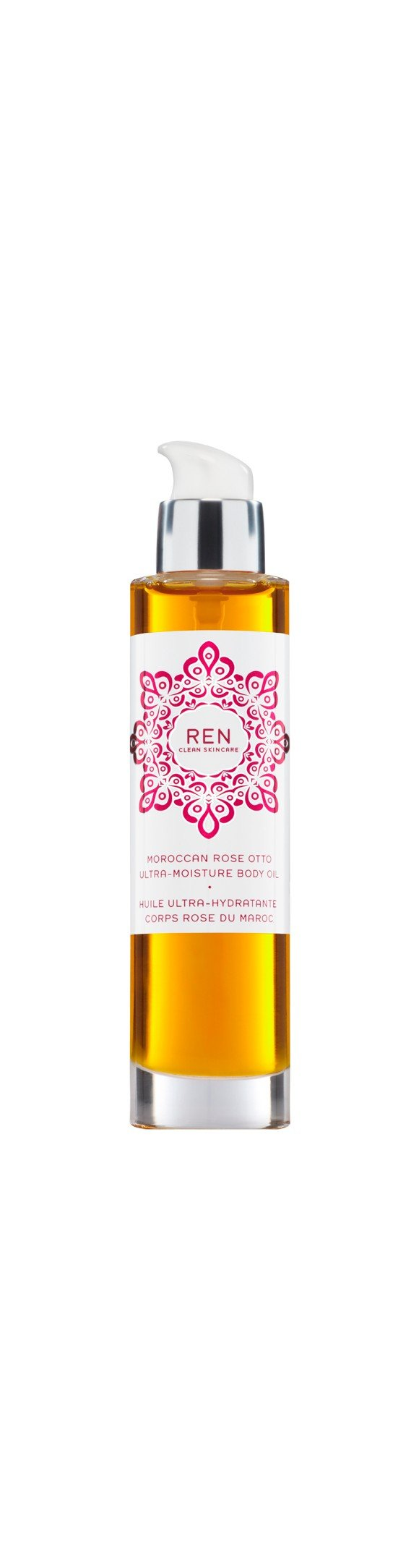 REN - Moroccan Rose Otto Ultra-Moisture Body Oil 100 ml