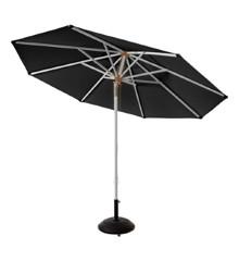 Cinas - Pomino Umbrella Ø 3,30m 1 pole w/tilting system - Black (6010020)