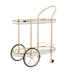Rice - Cocktail Cart - Gold
