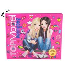 Top Model - Venskabsbog med Lys og Lyd - Pink (458743 )