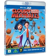 Cloudy With A Chance Of Meatballs 3D - Blu ray