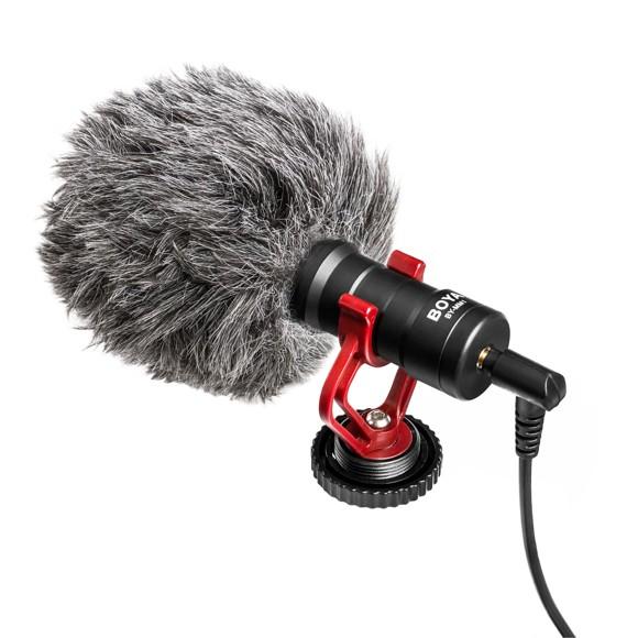 BOYA Mikrofon BY-MM1 Kondensator 3,5mm