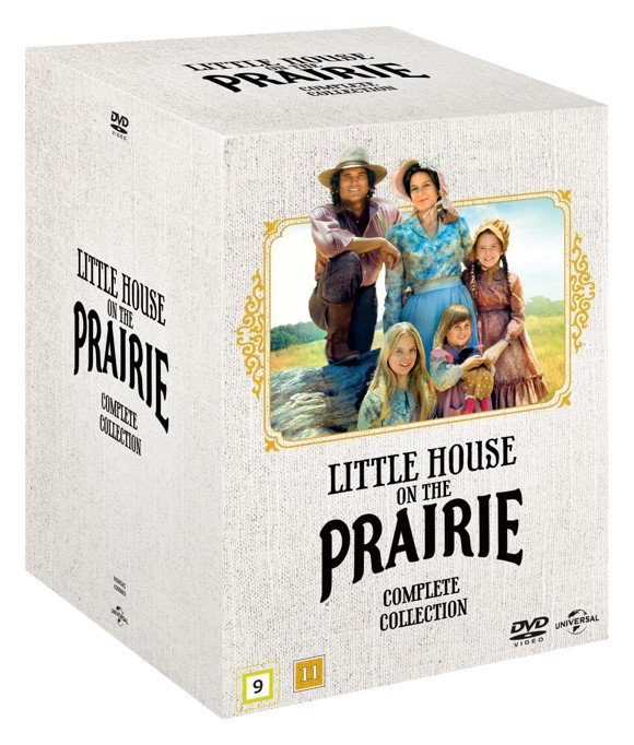 Little House on the Prairie - Complete Box - Season 1-9 (56 disc) - DVD