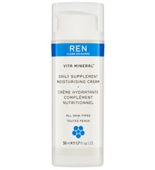 REN - Vita Mineral Daily Supplement Moisturising Cream 50 ml