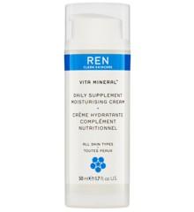 REN - Vita Mineral Daily Supplement Moisturising Dagcreme 50 ml