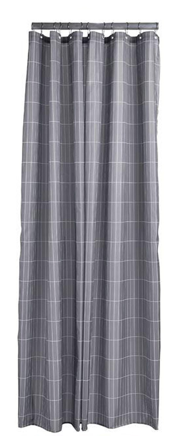 Zone - Tiles Shower Curtain 200 x 180 cm - Slate Grey (331839)