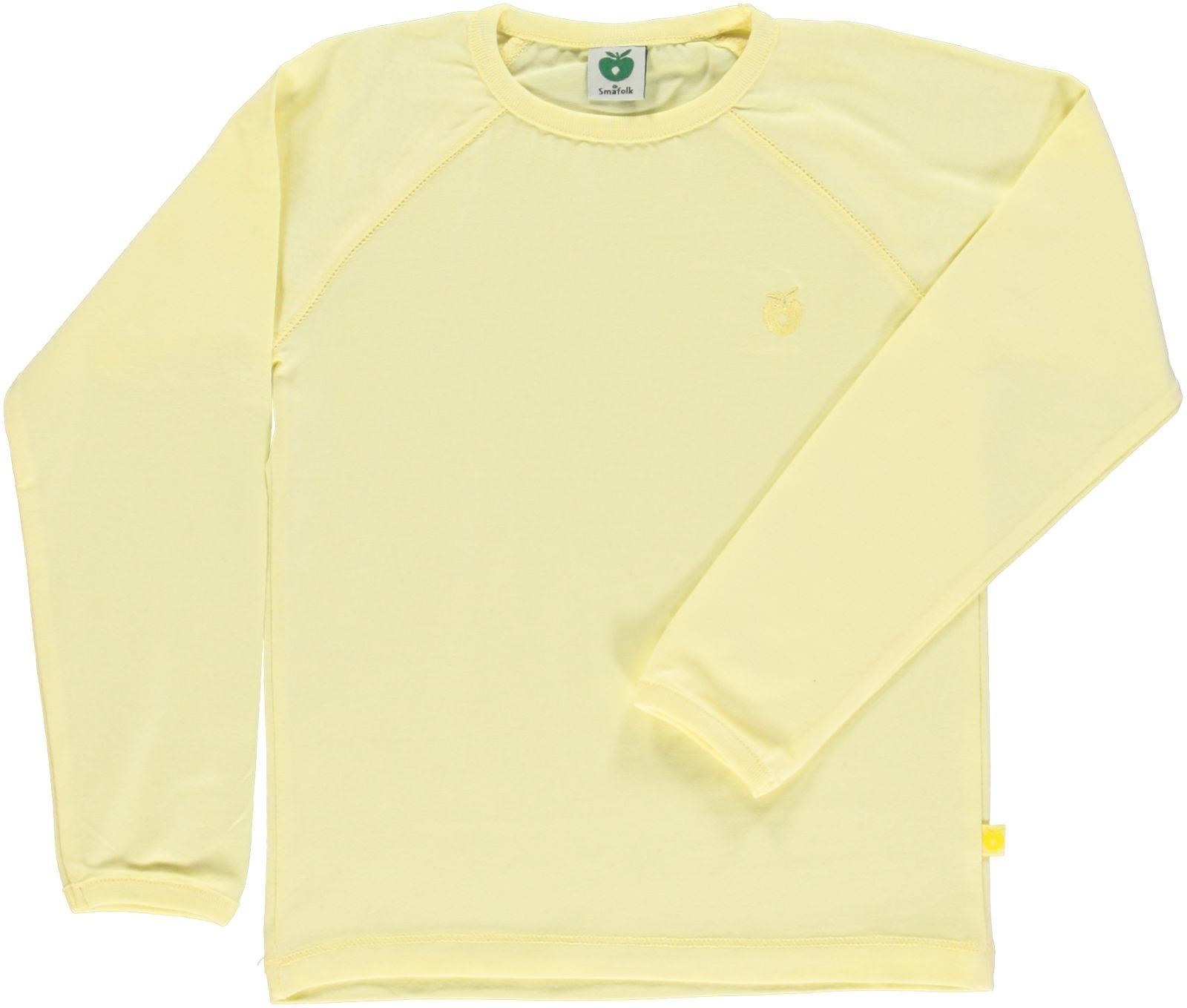 Småfolk - Organic Basic Longsleved T-Shirt - Lemonade