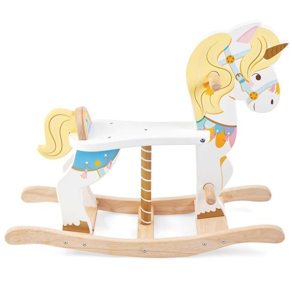 Le Toy Van - Rocking Unicorn Carousel (LPL134)