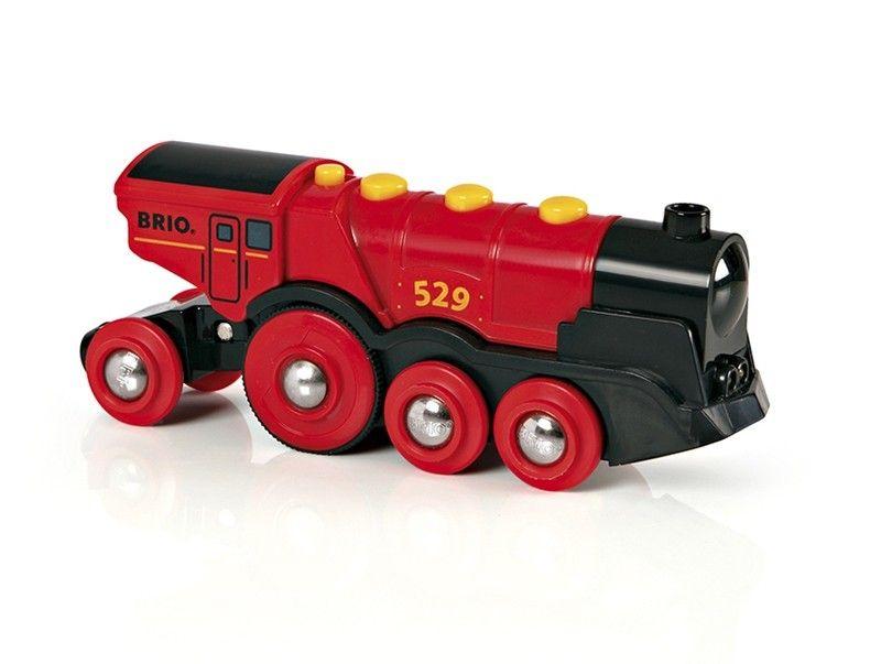 BRIO - Mighty Red Action Locomotive (33592)