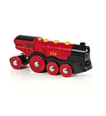 BRIO - Rødt Lokomotiv - Batteridrevet (33592)