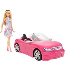 Barbie - Åben sportsvogn med dukke