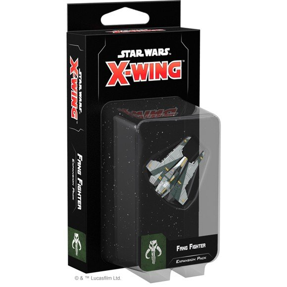 Star Wars - X-Wing - 2nd Edition - Fang Fighter