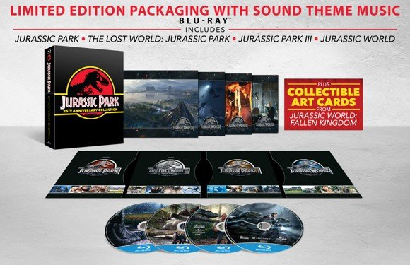Jurassic Park 25th Anniversary Gift set (Blu-Ray)