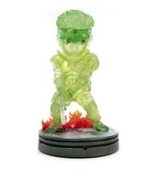 Metal Gear Solid (Stealth Camo. Neon Green Solid Snake) 20cm PVC