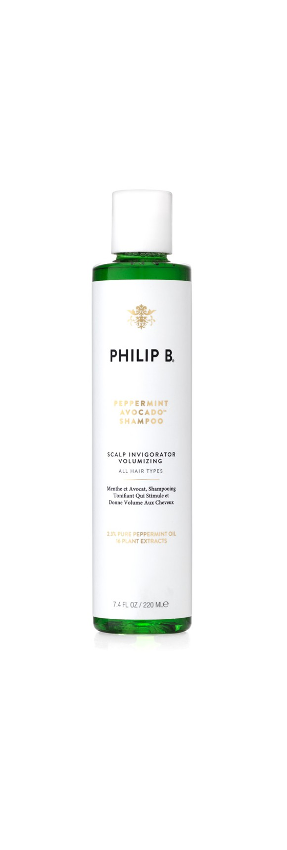 Philip B - Peppermint and Avocado Volumizing Clarifying Shampoo 220 ml