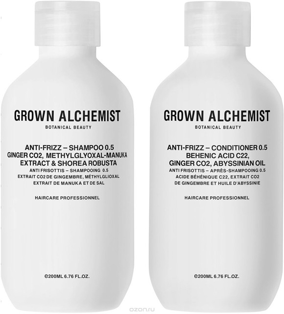 Grown Alchemist - Frizz-Reduction Haircare Twinset 2x200 ml