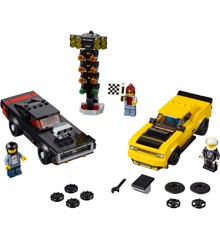 LEGO Speed Champions - 2018 Dodge Challenger SRT Demon og 1970 Dodge Charger R/T (75893)