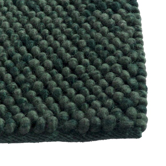 HAY - Peas Tæppe 170 x 240 cm - Mørk Grøn