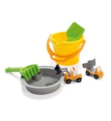 Dantoy - Bucket Set with 2 Vehicles in Net (1430)