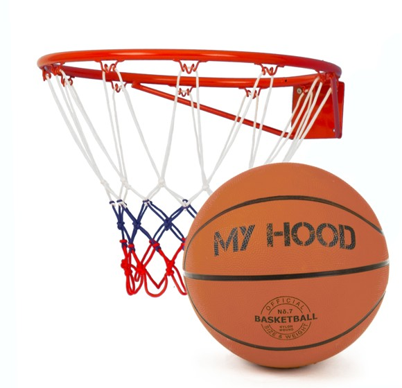 My Hood - Basketball ring incl. ball (304001)