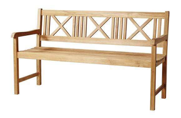Cinas - Rosenborg Havebænk 150 cm - Teak