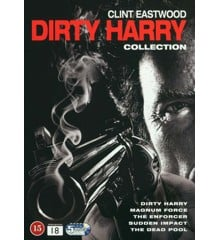 Dirty Harry Collection (5-disc) - DVD