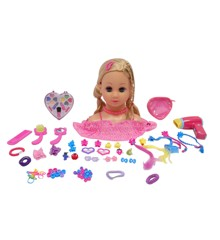 Happy Friend - Fanny Make Up Dollhead - Blonde (504402)