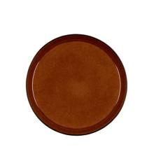 Bitz - 2 x Gastro Tallerken 27 cm - Black/Amber