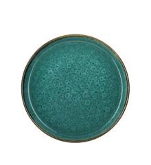 Bitz - 2 x Gastro Tallerken 27 cm - Grøn/Grøn