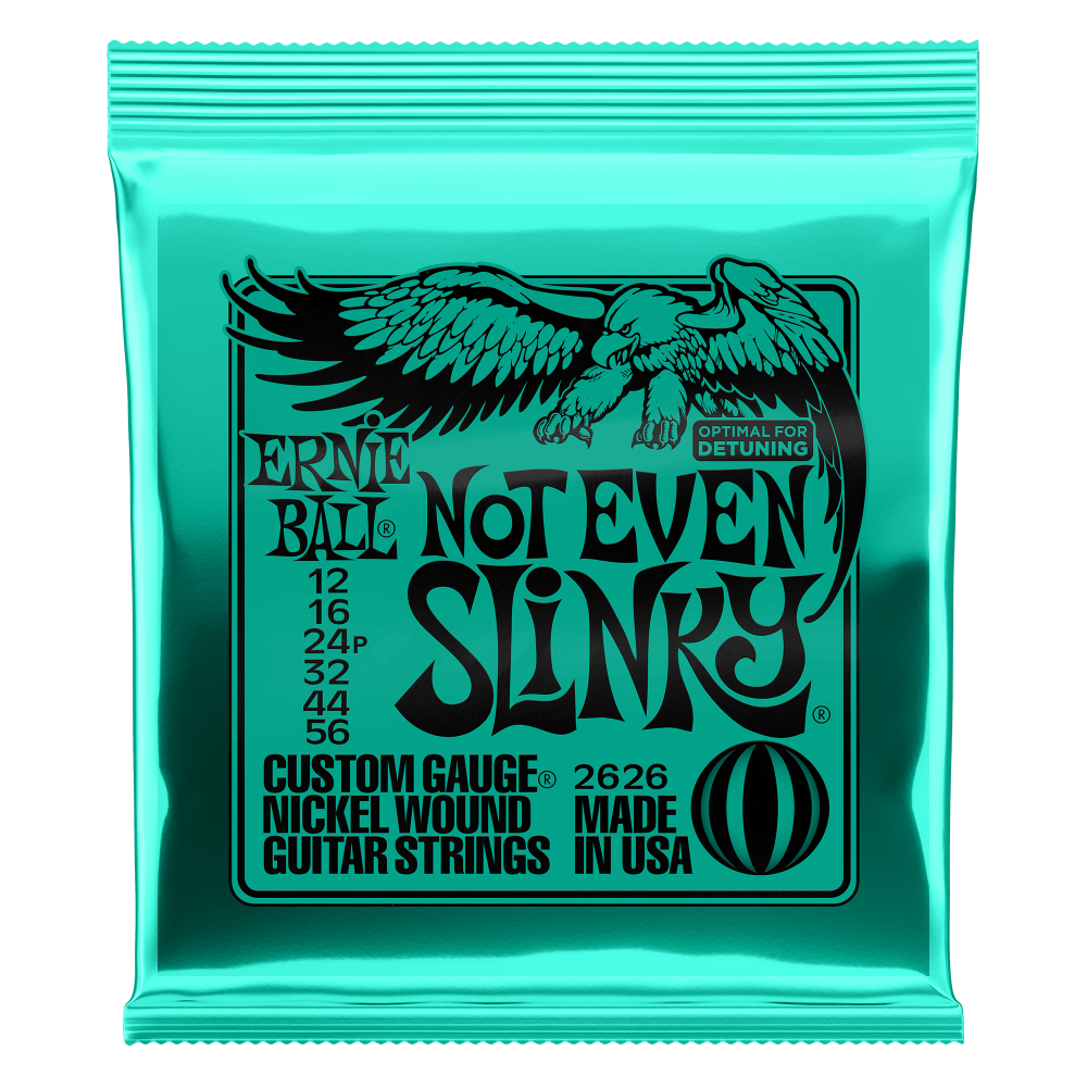 Ernie Ball - Not Even Slinky - String Set For Electric Guitar (012-056)