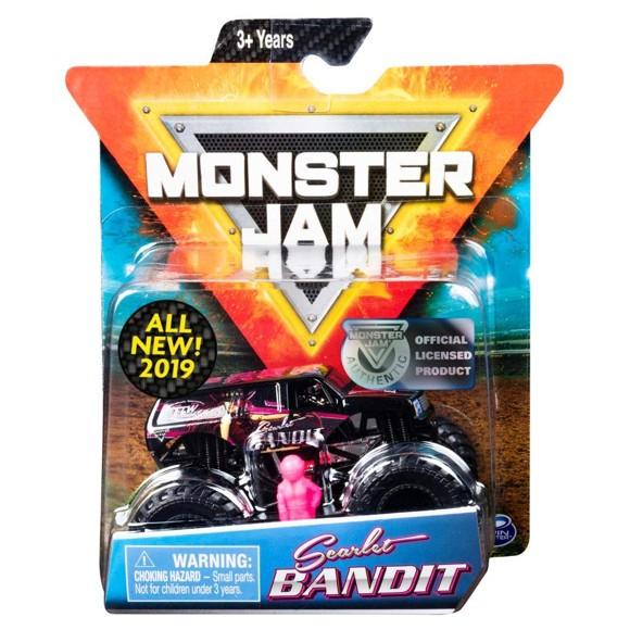 Monster Jam - 1:64 Single Pack - Scarlet Bandit (20105557)