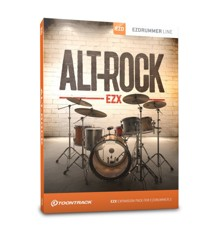 Toontrack - EZX Alt-Rock - Expansion Pack For EZdrummer (DOWNLOAD)