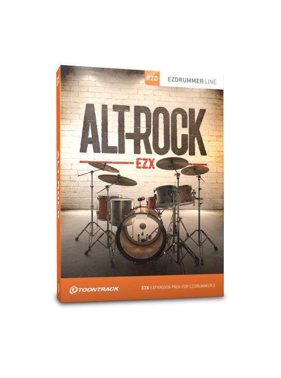 Toontrack - EZX Alt-Rock - Expansion Pack For EZdrummer (DOWNLOAD)