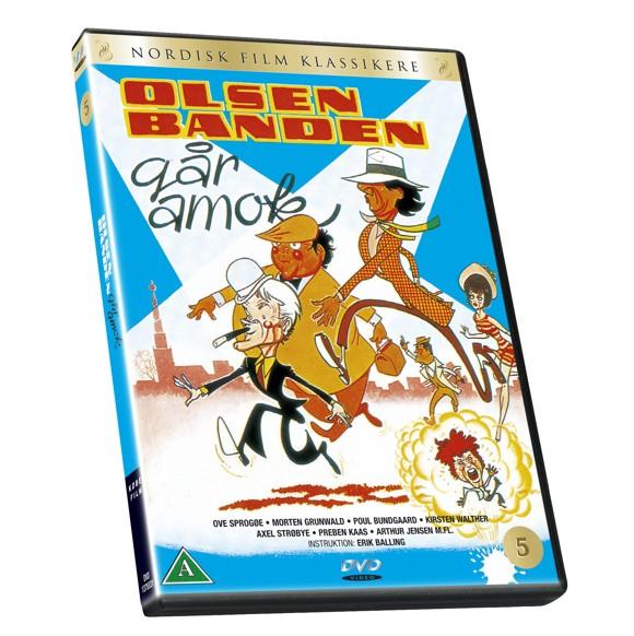 Olsen Banden 5 - Går amok - DVD