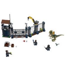 LEGO Jurassic World - Dilophosaurus-angreb på forposten (75931)