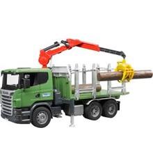 Bruder - Tømmerlastbil med Kran