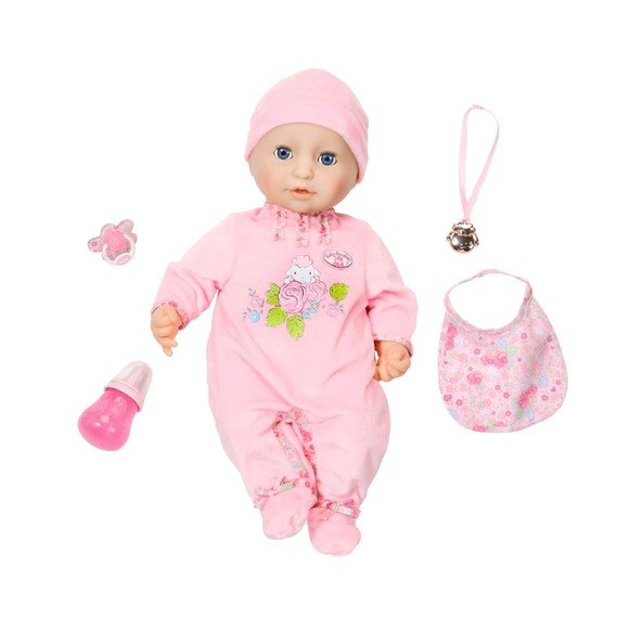 Baby Annabell - Interactive Doll, 43 cm ver.10