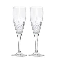 Frederik Bagger - Crispy Celebration Crystal Glass - 2 pack (10323)