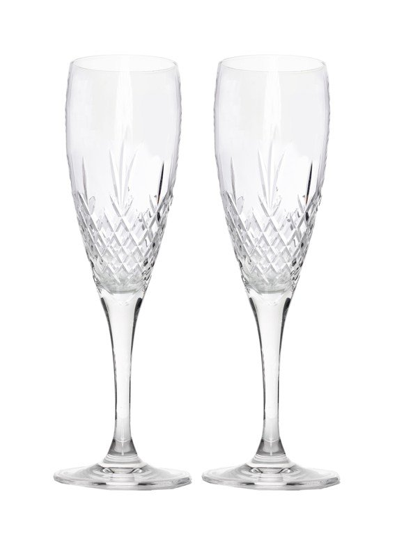Frederik Bagger - Crispy Champagne Krystal Glas - 2 pak